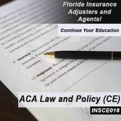 Florida - ACA Law and Policy (8hrs CE) (INSCE016FL8)